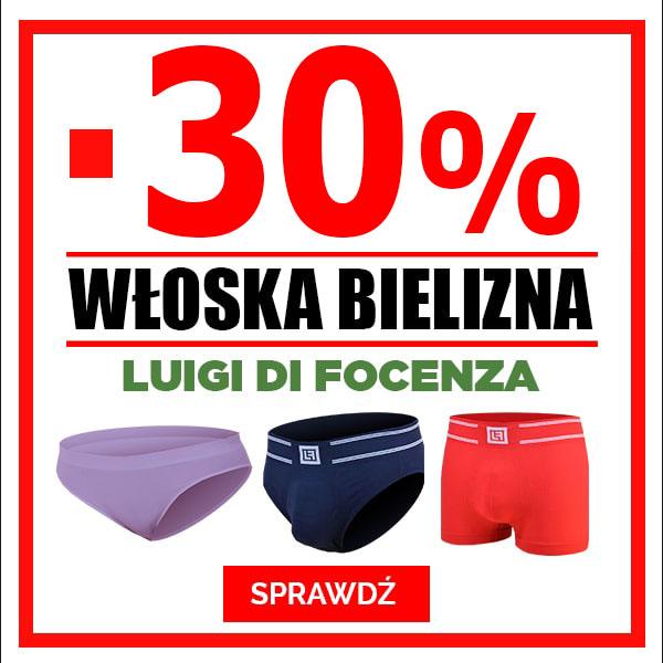 -50% Bielizna Luigi Di Focenza