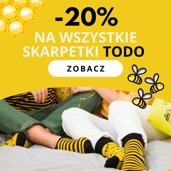 -20% Skarpetki Todo