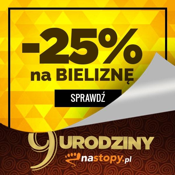 -25% na bieliznę