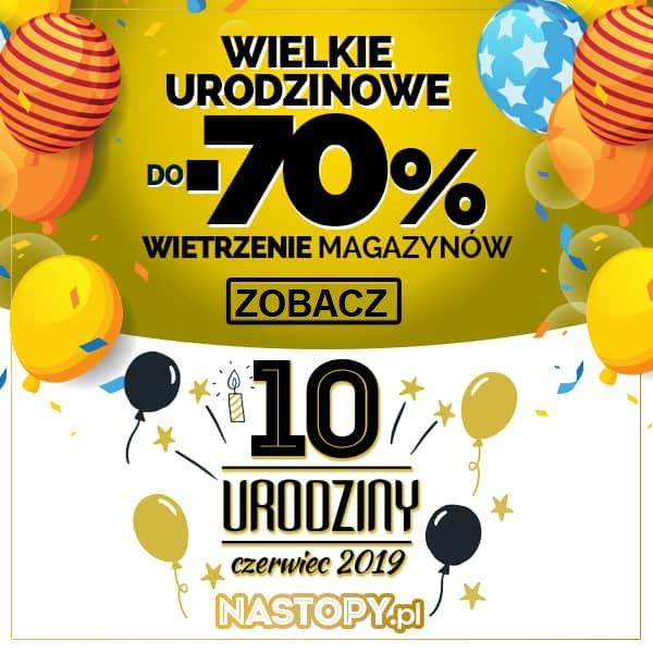 Do -70% Wielkie Urodzinowe Wietrzenie Magazynów !