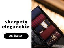 Skarpety Eleganckie Męskie