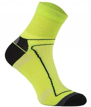Skarpety Rowerowe Antyzapachowe z jonami AG+, 7 kolorów!!!! - żółty