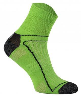 Skarpety Rowerowe Antyzapachowe z jonami AG+, 7 kolorów!!!! - zielony