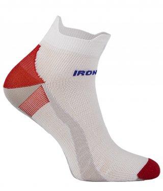 IronMan SPORT-X Lekkie Stopki dla AKTYWNYCH - biało-czerwony