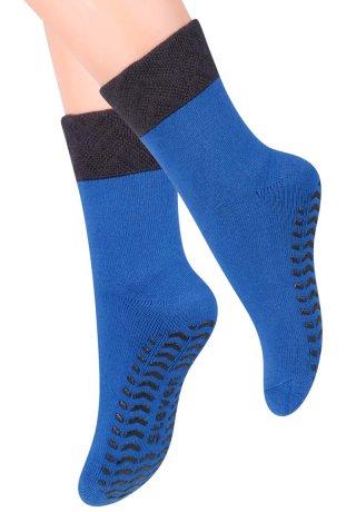 Skarpety Antypoślizgowe dziecięce z ABS. 3-8 lat - niebieski