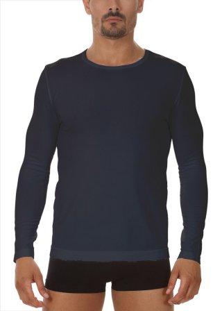 Koszulka Męska Termoaktywna z DŁUGIM rękawem. Elastyczna - Antracite