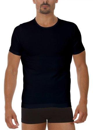 Koszulka Męska Termoaktywna T-SHIRT. Prosto z Włoch - Nero