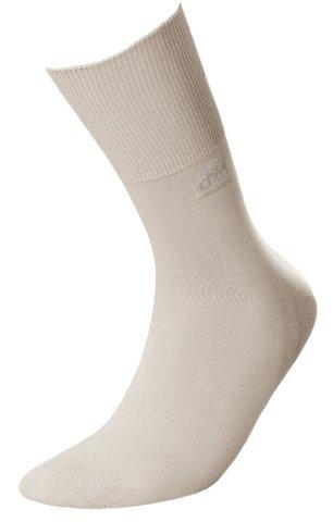 Skarpety Deomed Cotton SILVER zdrowotne, bezuciskowe, bawełniane  - beżowy