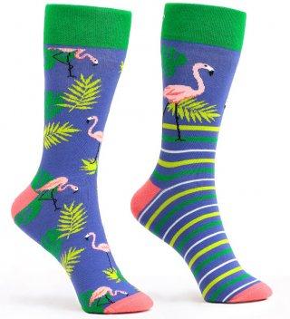 Skarpetki kolorowe WannaBreak Flamingo - Flamingo