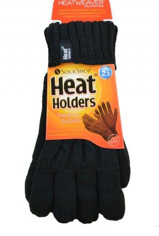 Rękawiczki Heat Holders Najcieplejsze na świecie DAMSKIE - czarny