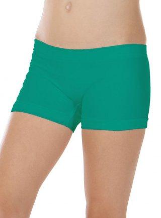 Bokserki Dziewczęce BIMBA włoskie, idealne na WF - Verde Smeraldo