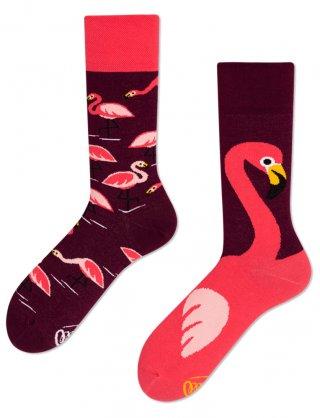Skarpetki kolorowe MANY MORNINGS PINK FLAMINGO - Pink Flamingo