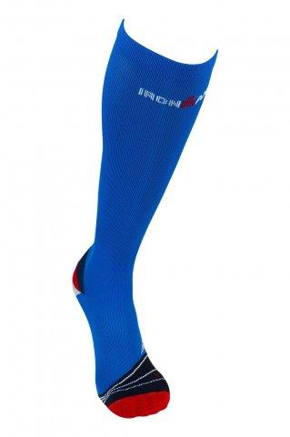 Skarpety kompresyjne Ironman COMPRESSION  - niebieski