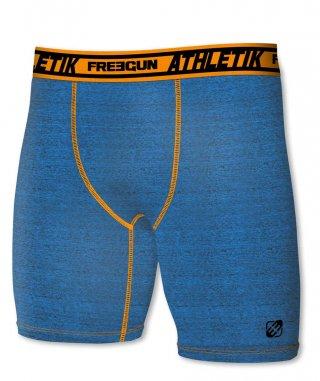 Termoaktywne bokserki ACTIVE z dłuższymi nogawkami - idealne do sportu - niebieski