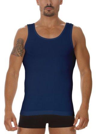 Koszulka Męska Termoaktywna Tank TOP Prosto z Włoch - Blu
