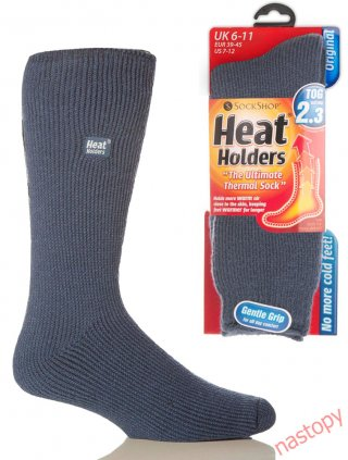 Najcieplejsze Skarpety na świecie HEAT HOLDERS CLASSIC Męskie, super ciepłe, na Mrozy - jeans
