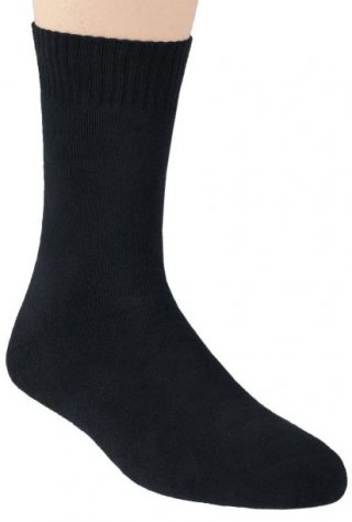 Skarpety bawełniane Frotte  - czarny