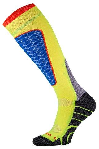 Skarpety Narciarskie COMODO SKI PERFORMANCE SK1 termiczne, wytrzymałe, 6 kolorów - seledyn