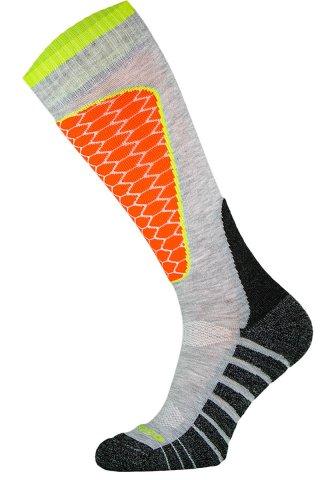 Skarpety Narciarskie COMODO SKI PERFORMANCE SK1 termiczne, wytrzymałe, 6 kolorów - szary