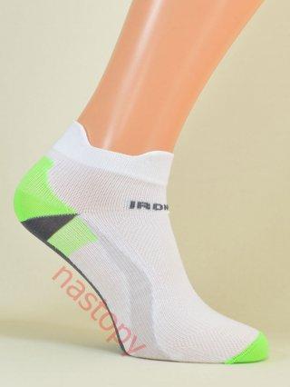 IronMan SPORT-X Lekkie Stopki dla AKTYWNYCH 6-kolorów - biało-zielony