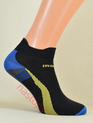 IronMan SPORT-X Lekkie Stopki dla AKTYWNYCH 6-kolorów - czarno-niebieski