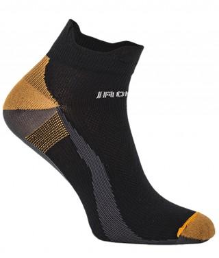 IronMan SPORT-X Lekkie Stopki dla AKTYWNYCH - czarno-pomarańczowy