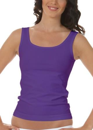 Koszulka Damska na Ramiączkach Oddychająca Elastyczna Made in Italy - Viola