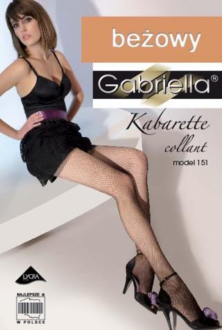 Rajstopy Kabarette Kabaretki model: 151 - beżowy