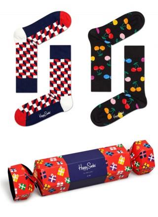 Zestaw prezentowy Happy Socks 2pary Prezent - Gift-Prezent