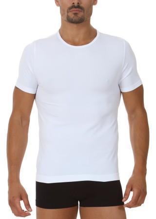 Koszulka Męska Termoaktywna T-SHIRT. Prosto z Włoch - Bianco