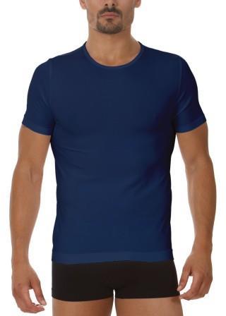 Koszulka Męska Termoaktywna T-SHIRT. Prosto z Włoch - Blu