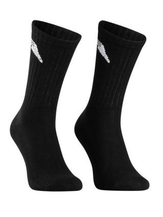 Skarpetki Sportowe (3-PARY) Długie bawełniane  - czarny