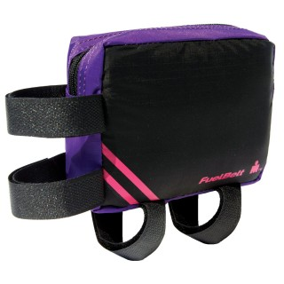 Wodoodporna saszetka na rower. Large Aero FuelBox - Purple/Pink
