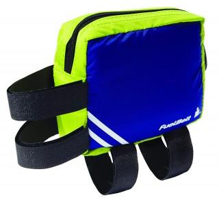 Wodoodporna saszetka na rower. Large Aero FuelBox - Blue/Green