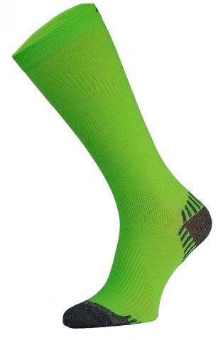 Skarpety kompresyjne Podkolanówki, SSC - 10 kolorów - zielony fluo