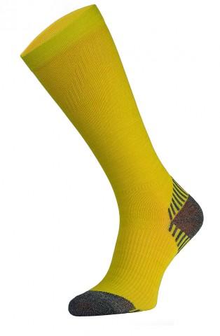 Skarpety kompresyjne Podkolanówki, SSC - 10 kolorów - żółty