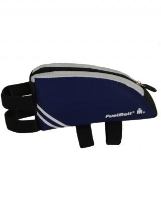 Saszetka na rower o aerodynamicznym kształcie. Aero FuelBox - Deep Sea Blue