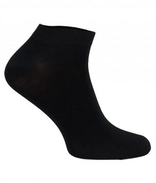 Oddychające stopki z włókna BAMBUSA FIBER STEVEN - czarny