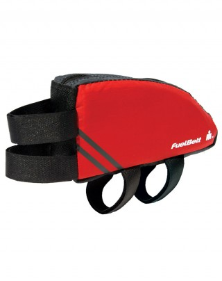 Saszetka na rower o aerodynamicznym kształcie. Aero FuelBox - Red/Carbon