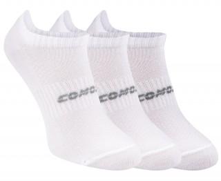 3PACK - Zaawansowane stopki do sportu i na co dzień, Comodo Everyday ELITE LOW RUN11 - biały