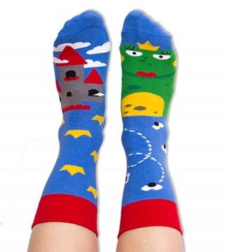 Skarpety kolorowe dla dzieci żabka - Princess Frog - Princess Frog