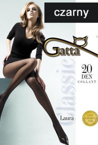 Rajstopy LAURA Classic Collant (20den) - czarny
