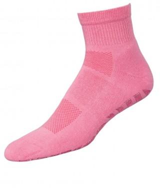 Skarpetki GYM NON-SLIP Antypoślizgowe do ćwiczeń, na matę - różowy