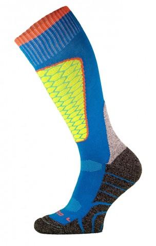 DZIECIĘCE skarpety narciarskie SK1  KIDS, ciepłe i komfortowe 5 kolorów  - niebieski
