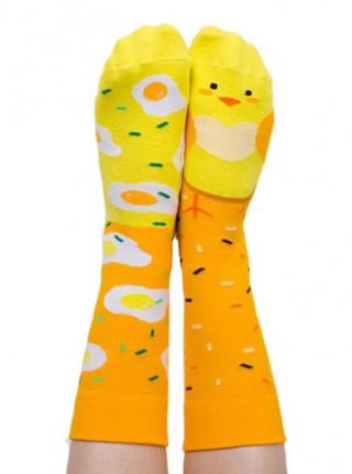 Skarpety kolorowe z serii Happy Friends Socks - kurczaczek Chicken Out - Chicken Out