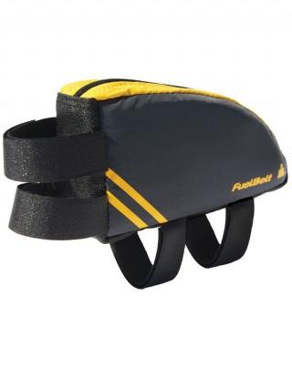 Saszetka na rower o aerodynamicznym kształcie. Aero FuelBox - Mango/Carbon