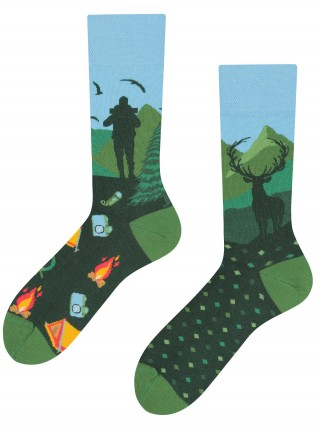 Mountain Trail, Todo Socks, Góry, Trekking, Szlak, Kolorowe Skarpetki - Mountain Trail