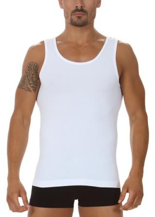 Koszulka Męska Termoaktywna Tank TOP Prosto z Włoch - Bianco