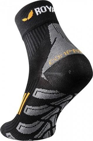 Skarpety sportowe idealne do biegania ROYAL BAY (ponad kostkę) Classic HIGH-CUT  czarne - czarny