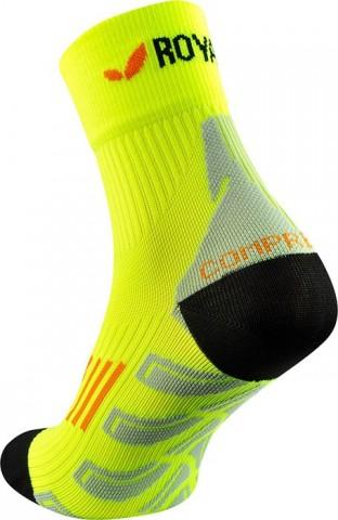 Skarpety sportowe idealne do biegania ROYAL BAY (ponad kostkę) Classic HIGH-CUT żółte - żółty